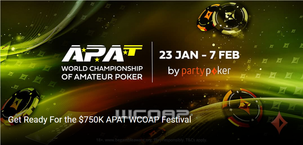 partypoker to host WCOAP
